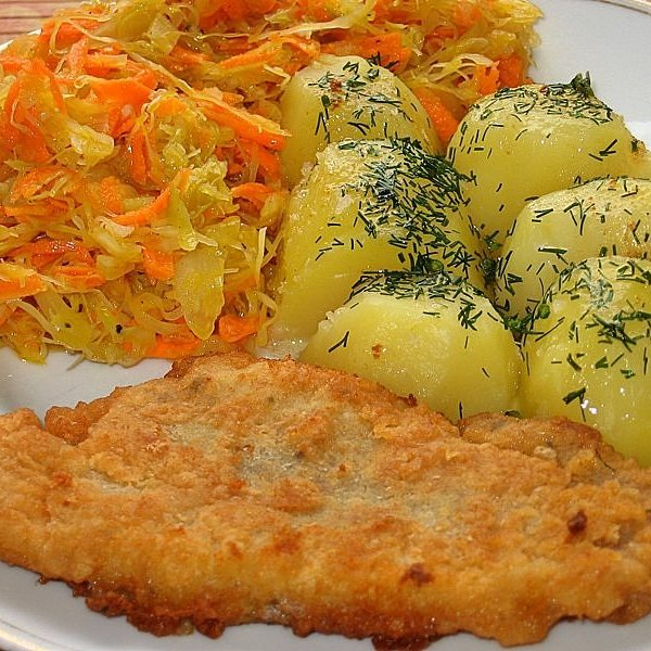 Ryba z ziemniakami